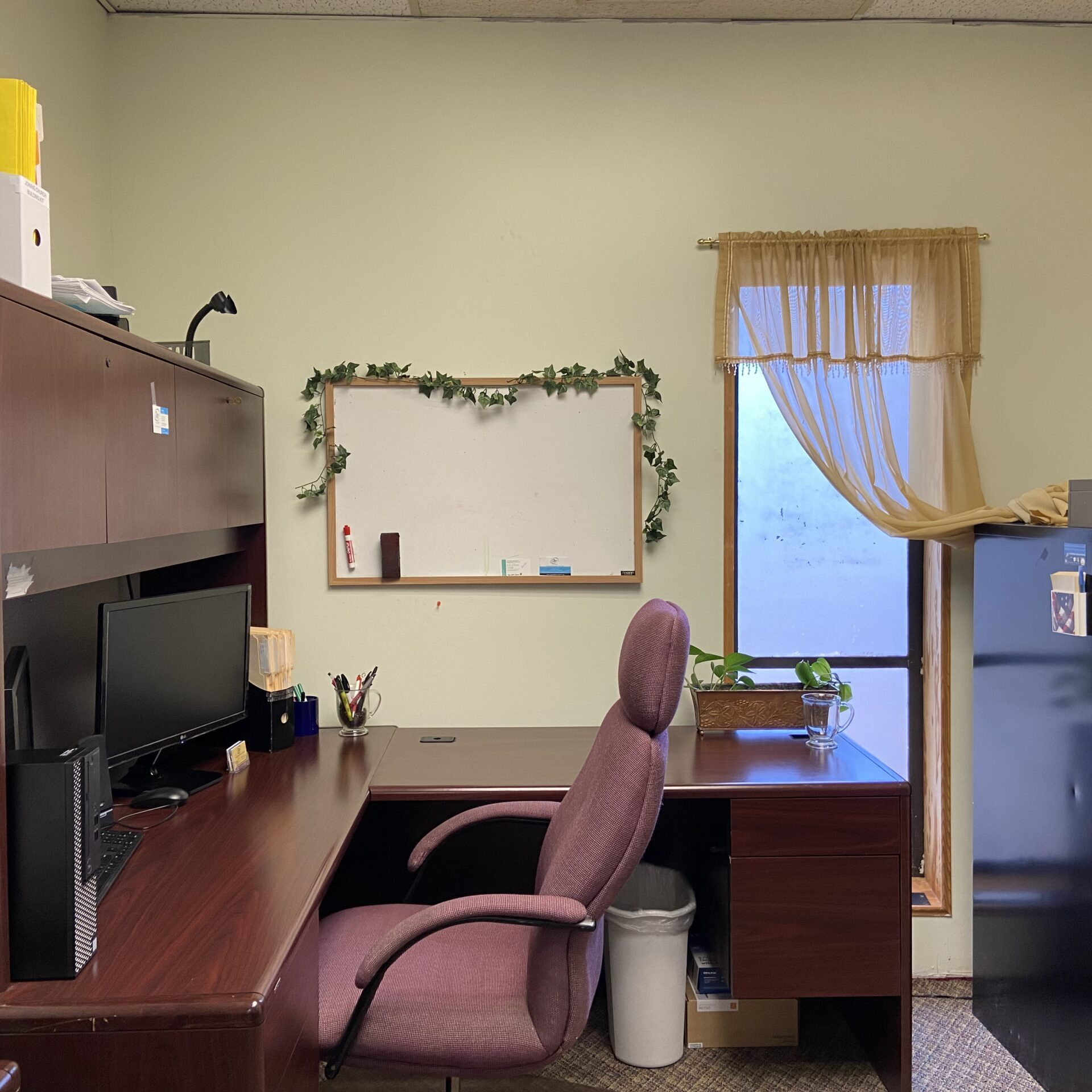 Church staff office at OBBC